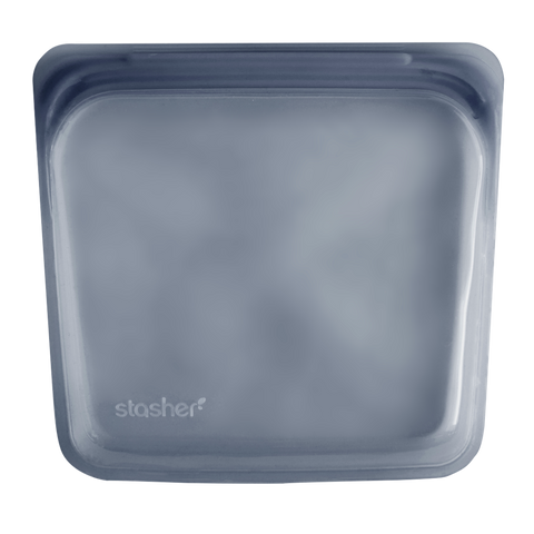 Stasher - Plastic-Free Sandwich Bag - Smoke