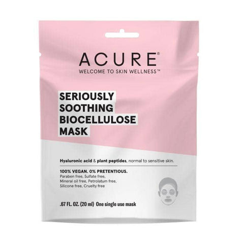 ACURE - Seriously Soothing Biocellulose Mask (20ml)