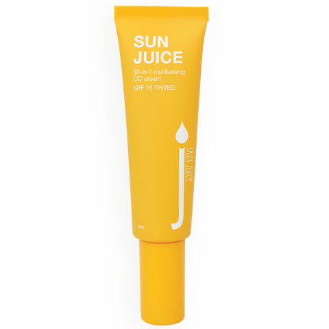 Skin Juice - Sun Juice Tinted CC Cream with SPF.  50ml