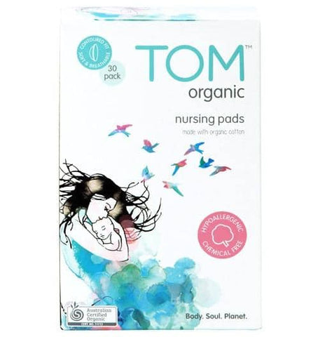 TOM Organic - Nursing Breast Pads (30 pack)