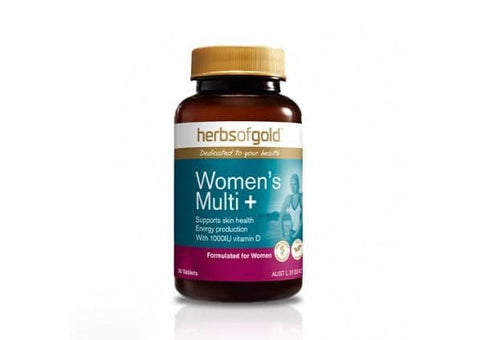 Herbs of Gold - Women's Multi + (30 tablets)