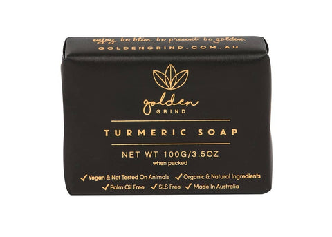 Golden Grind - Turmeric Soap (100g)