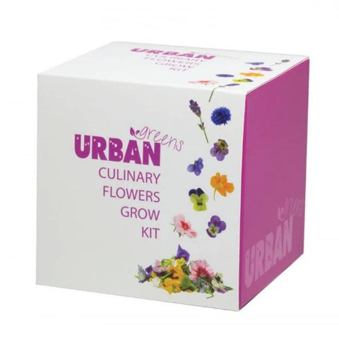 Urban Greens - Culinary Flowers Grow Kit