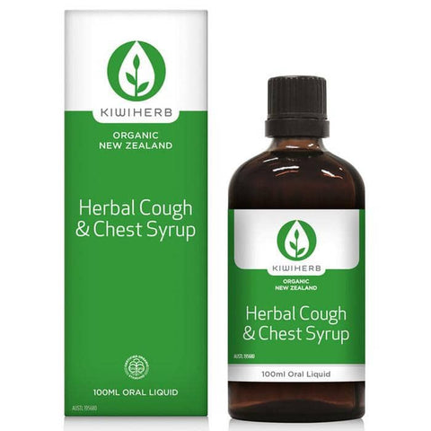 Kiwiherb - Herbal Cough and Chest Syrup (100ml)