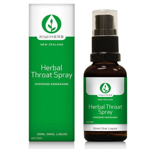 Kiwiherb - Herbal Throat Spray (30ml)