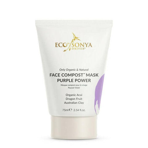 Eco By Sonya - Purple Compost Mask Purple Power