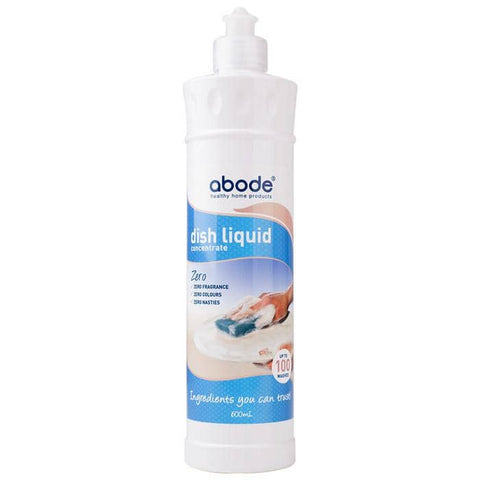 Abode - Natural Dishwashing Liquid - Zero (600ml)