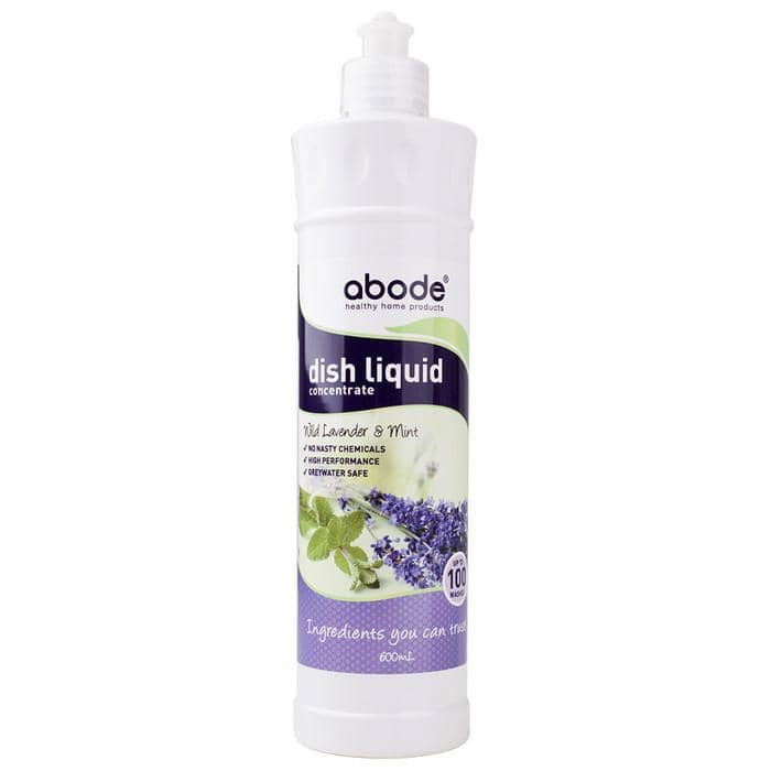 Abode - Natural Dishwashing Liquid - Lavender and Mint (600ml)