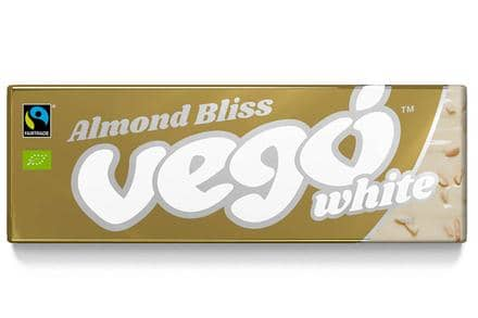 Vego - White Chocolate Almond Bliss Bar (50g)