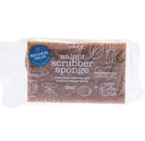 Natural Value - Walnut Scrubber Sponge