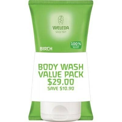 Weleda - Body Scrub Duo - Birch (2 x 150ml)