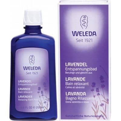 Weleda - Lavender Relaxing Bath Milk (200ml)