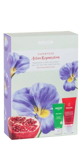 Weleda Superfood Active Regeneration Duo Gift Set