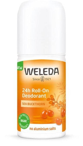 Weleda - Sea Buckthorn 24hr Roll-On Deodorant (50ml)