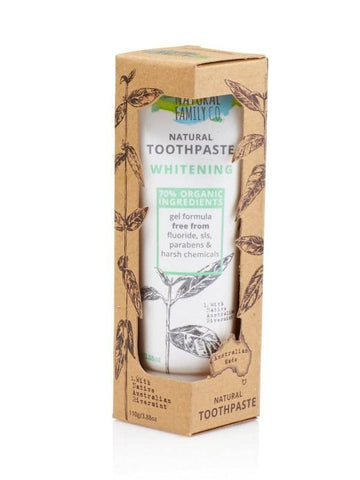 The Natural Family Co. - Natural Toothpaste - Whitening (100g)