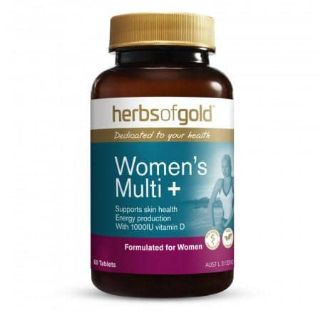 Herbs of Gold - Women's Multi + (60 tablets)