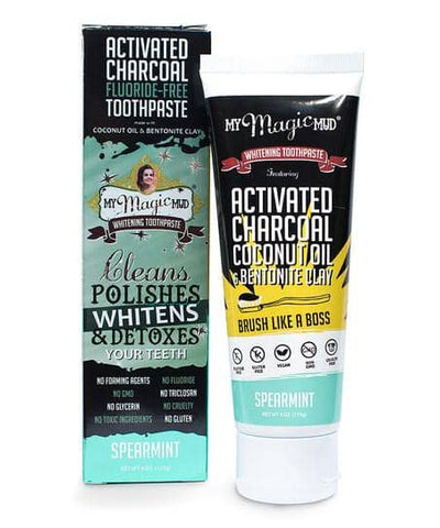 My Magic Mud - Tooth Whitening Toothpaste - Spearmint (113g)