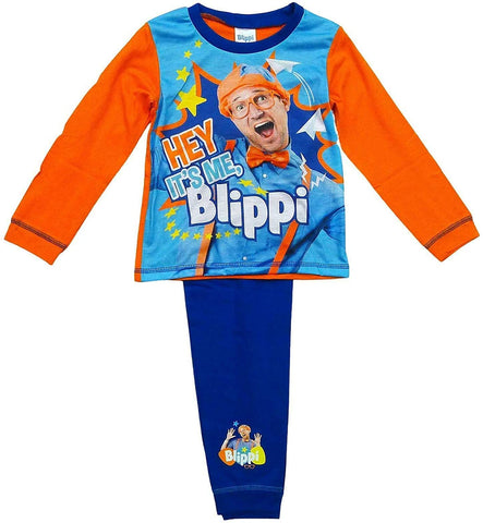 Boys Pyjamas Blippi Pjs Hey Its Me Blippi Pyjamas