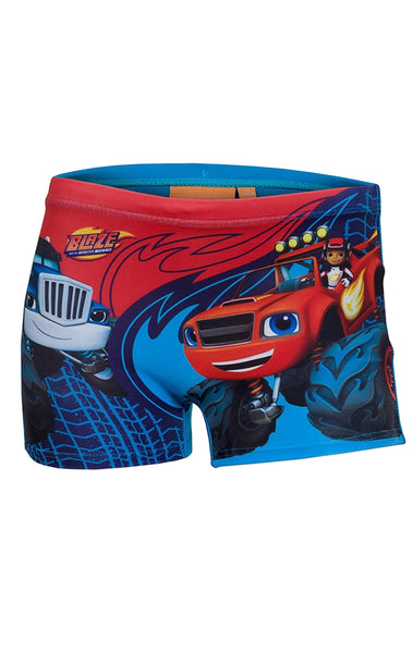 Disney Boys Blaze Swim Shorts Age 2-11 Years - Character Direct