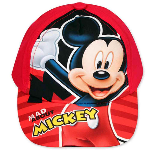 Disney Mickey Mouse Cap Baseball Hat Age 2 to 8 Years - Character Direct