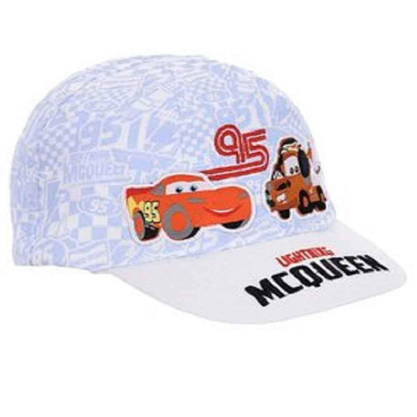 Kids Baby Disney Cars Emboridery Detail Baseball Hat 0 to 36 Months - Character Direct