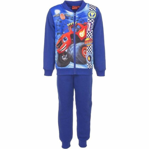 Official Licenced Boys Blaze and the Monster Machine Fleece Lined Tracksuit Trackpant Age 3 to 8 Years - Character Direct