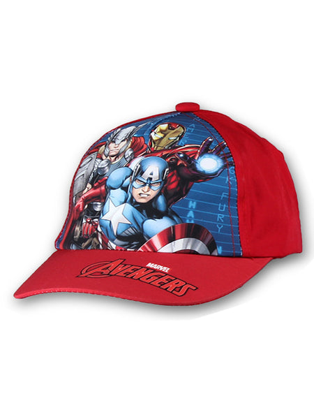 Boys Avengers Baseball Hat Age 2-8 Years - Character Direct
