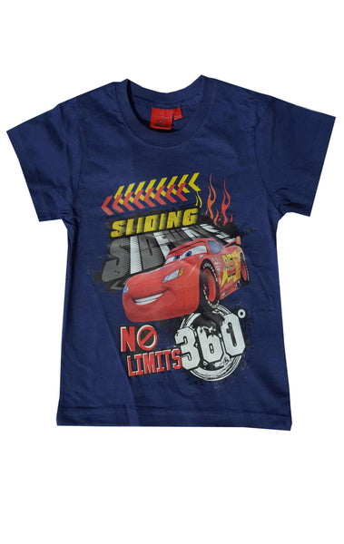 Disney Pixar Cars Boys Short Sleeve T-Shirt Top Age 3 to 8 Years - Character Direct