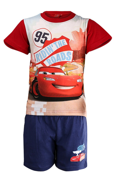 Disney Cars Boys Short Pyjamas Age 3 to 8 Years - Character Direct
