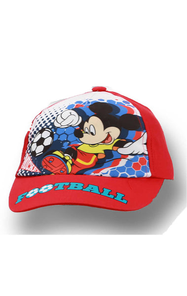 Boys Official Mickey Mouse Baseball Hat Cap Age 2-8 Years - Character Direct