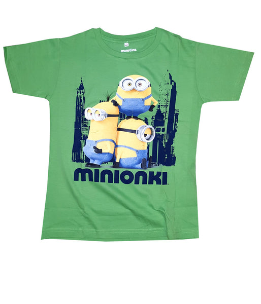 Despicable Me Boys Minion Kevin Green Top Age 4-9 Years - Character Direct