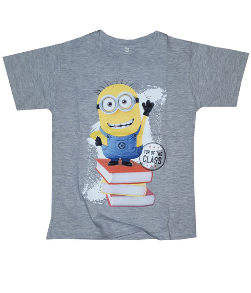 Despicable Me Boys Minion Kevin Grey Top Age 4-9 Years - Character Direct