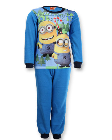 Boys Jacket Despicable Me Minions Microfleece Zip Top Official Kids 6-12 Years