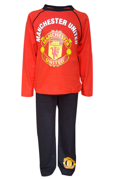 Boys Manchester United Football Pyjama 4 to 12 Years - Character Direct
