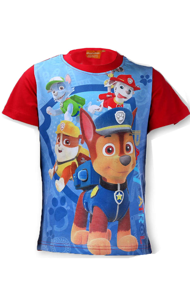 Paw Patrol T-shirts Nickelodeon Boys ages 3,4,5,6,7,8 years