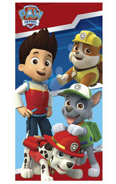 Boys Paw Patrol Beach Towel - Character Direct