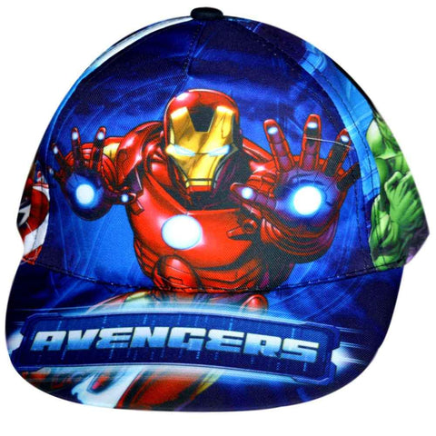 Official Boys Marvel Avengers Capt America Baseball Hat Age 2 to 8 Years