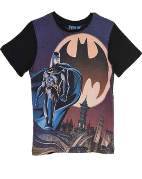 DC Comics Batman Boys Top T-Shirt Age 2 to 8 Years - Character Direct