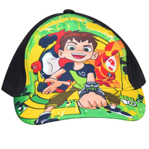 Official Ben10 Baseball Hat Age 2 to 8 Years - Character Direct