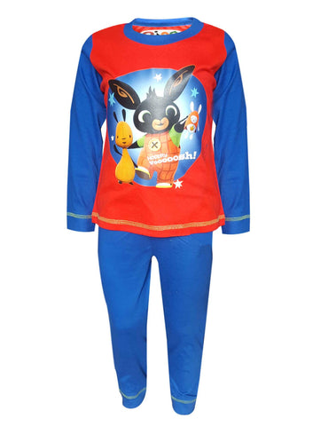Boys Official Bing Long Length Pyjamas Age 1 to 4 Years - Character Direct