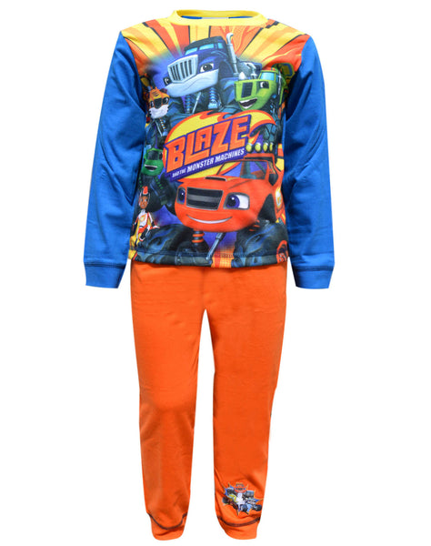 Boys Official Licensed Blaze and the Monster Machines Long Pyjamas Age 1.5 to 5 Years - Character Direct