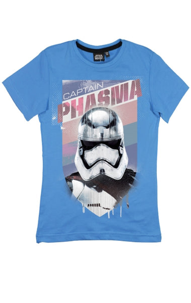 Starwars Boys Printed T-Shirt Top Age 9 to 14 Years - Character Direct