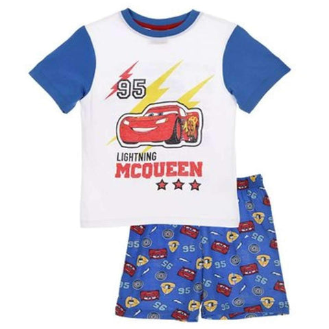 Official Disney Cars Boys Cotton Short Pyjamas Age 2 to 8 Years