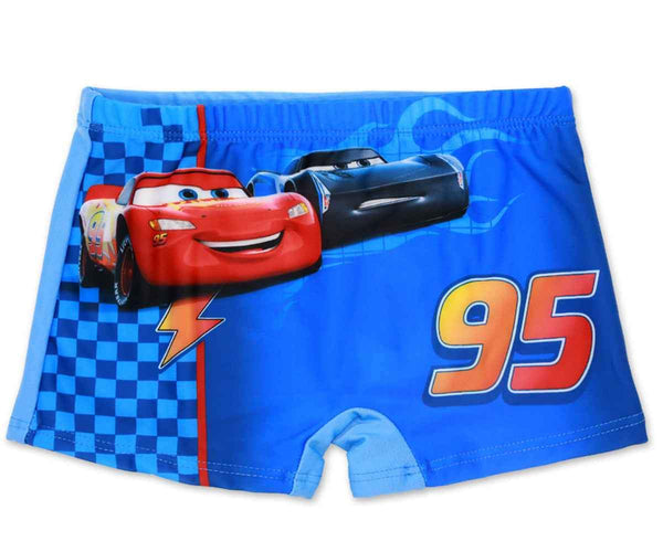 Boys Official Licensed Disney Cars Print Swim Shorts Age 2-8 Years - Character Direct