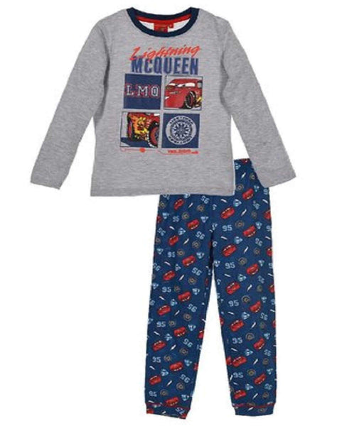 Official Disney Cars Boys Cotton Pyjamas Age 3 to 8 Years - Character Direct