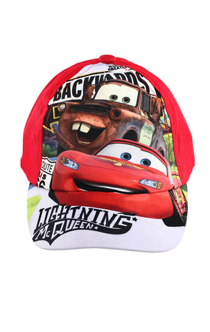 Official Disney Pixar Cars Baseball Hat Age 2-8 Years