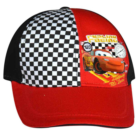 Official Disney Car Pixar Boys Embroidery Detail Baseball Hat Age 2 to 8 Years
