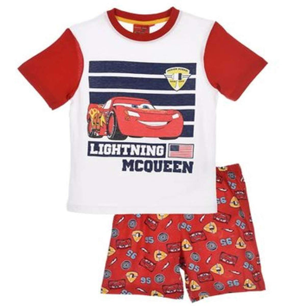 Official Disney Cars Boys Cotton Short Pyjamas Age 2 to 8 Years - Character Direct