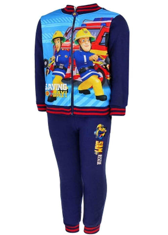 Boys Fireman Sam Tracksuit Age 3 to 8 Years - Character Direct