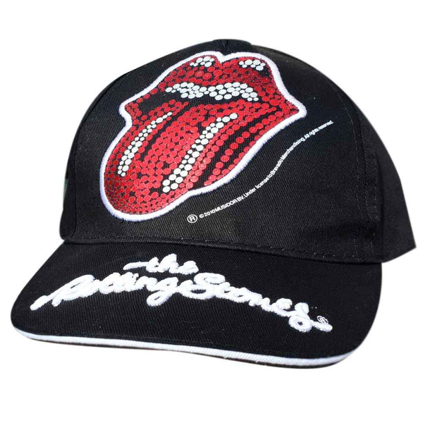 Official Licensed Rolling Stones Cap Baseball Hat Age 2 to 8 Years
